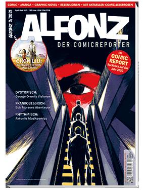 Das Titelbild von Alfonz 2/2021