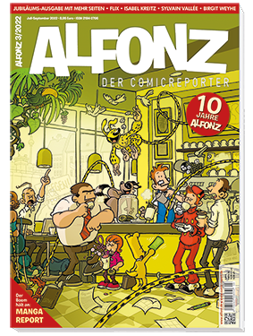 Die aktuelle Ausgabe von ALFONZ