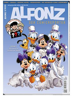 Die aktuelle Ausgabe von ALFONZ